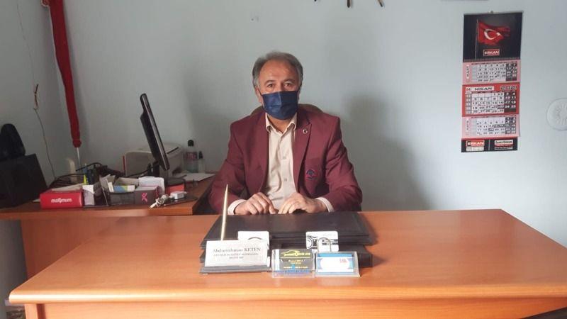 Nevşehir Cevher Dudayev Mahallesi Muhtarı Abdurrahman Keten mahallede Korona Virüsü vakalarının bittiğini belirtti.